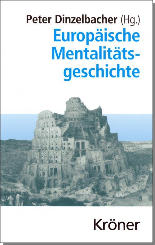 Europäische Mentalitätsgeschichte cover