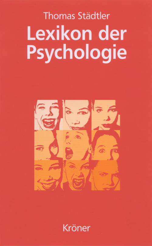 Lexikon der Psychologie cover