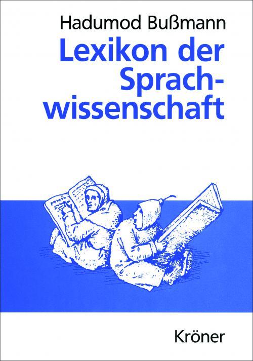 Lexikon der Sprachwissenschaft cover