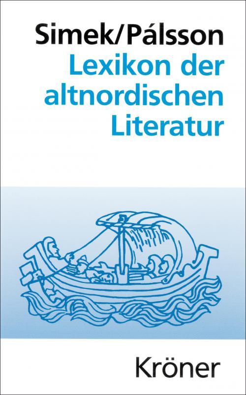 Lexikon der altnordischen Literatur cover