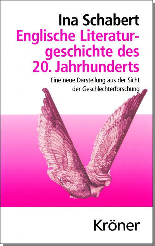 Englische Literaturgeschichte des 20. Jahrhunderts cover