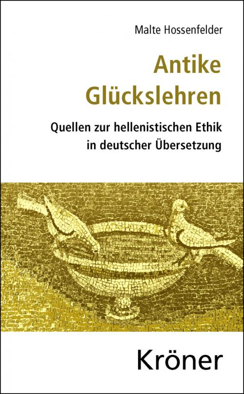 Antike Glückslehren cover