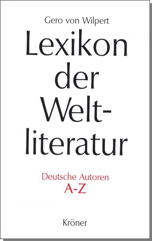 Lexikon der Weltliteratur - Deutsche Autoren cover