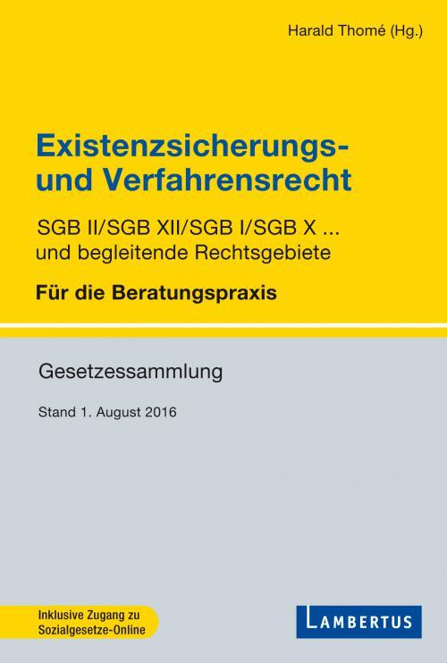Existenzsicherungs- und Verfahrensrechtrecht cover