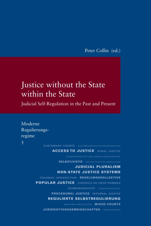 Moderne Regulierungsregime / Justice without the State within the State cover