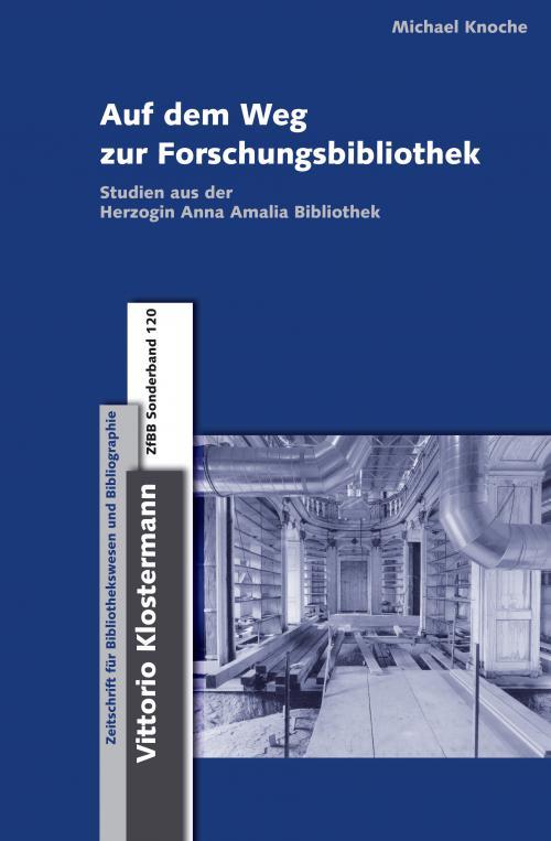Auf dem Weg zur Forschungsbibliothek cover