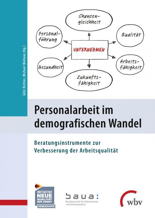 Personalarbeit im demografischen Wandel cover