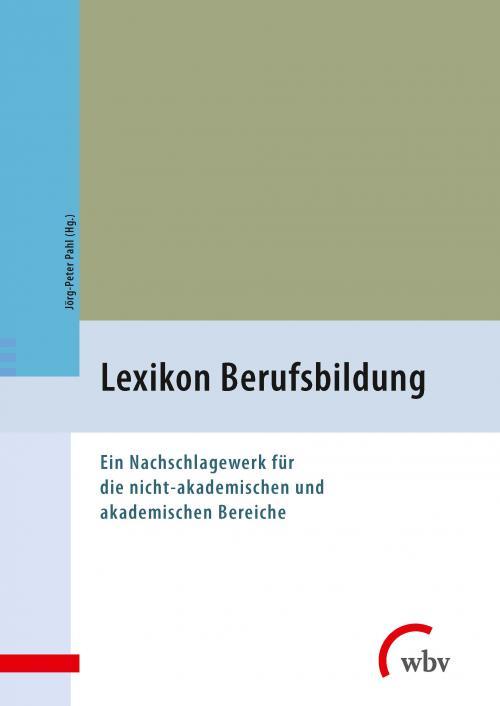 Lexikon Berufsbildung cover