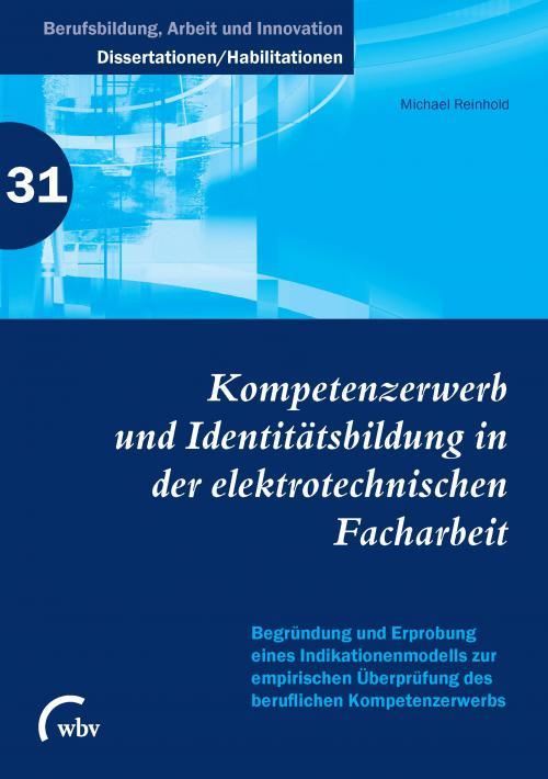 Kompetenzerwerb und Identitätsbildung in der elektrotechnischen Facharbeit cover