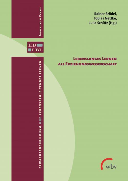 Lebenslanges Lernen als Erziehungswissenschaft cover