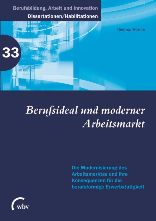 Berufsideal und moderner Arbeitsmarkt cover