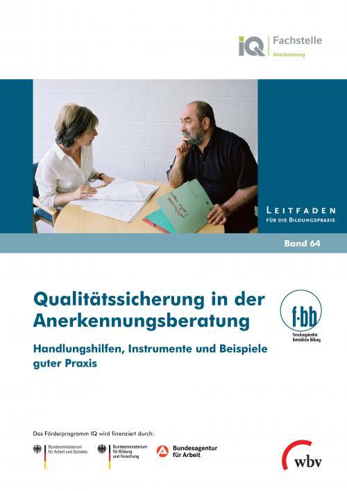 Qualitätssicherung in der Anerkennungsberatung cover