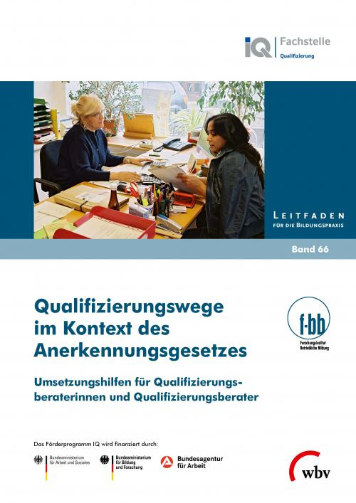 Qualifizierungswege im Kontext des Anerkennungsgesetzes cover