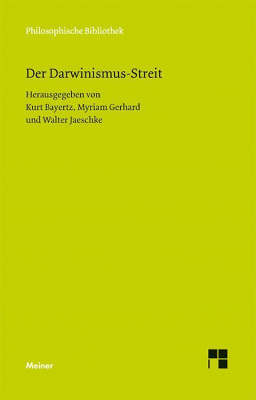 Der Darwinismus-Streit cover