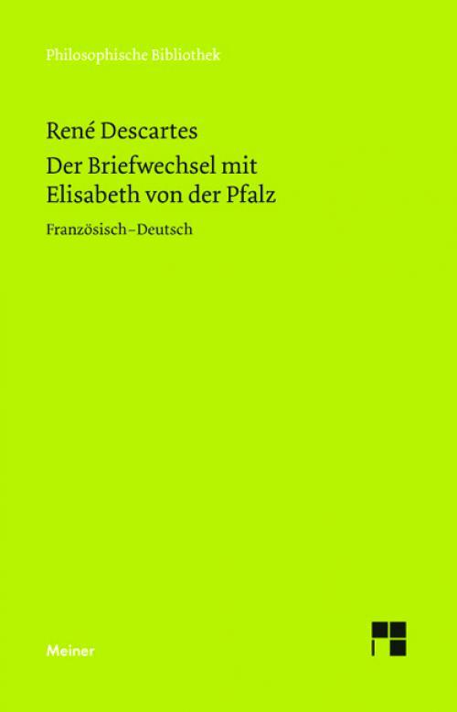Der Briefwechsel mit Elisabeth von der Pfalz cover