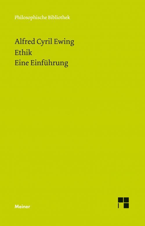 Ethik. Eine Einführung cover