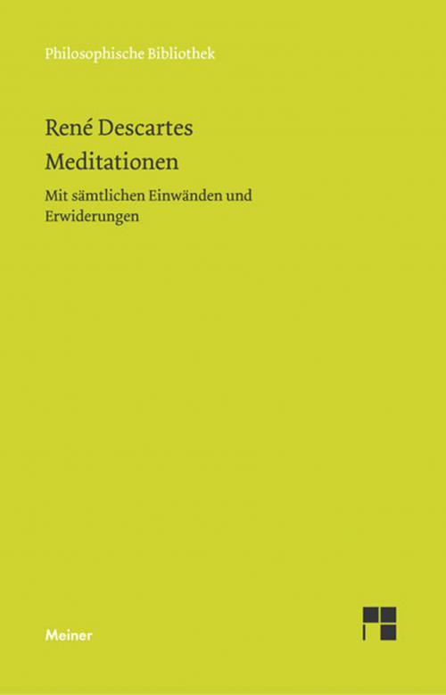 Meditationen cover