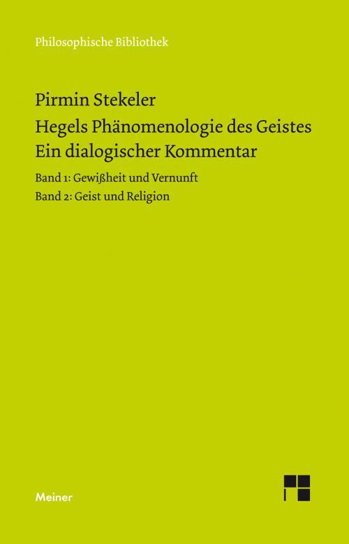 Hegels Phänomenologie des Geistes. Ein dialogischer Kommentar. cover
