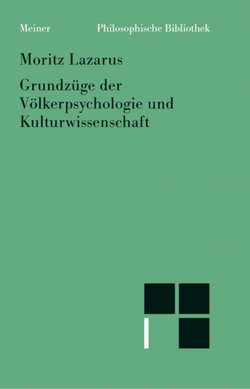 Grundzüge der Völkerpsychologie und Kulturwissenschaft cover