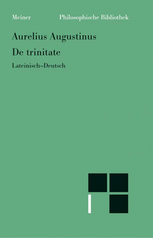 De trinitate (Bücher VIII-XI, XIV-XV, Anhang: Buch V) cover