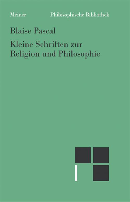 Kleine Schriften zur Religion und Philosophie cover
