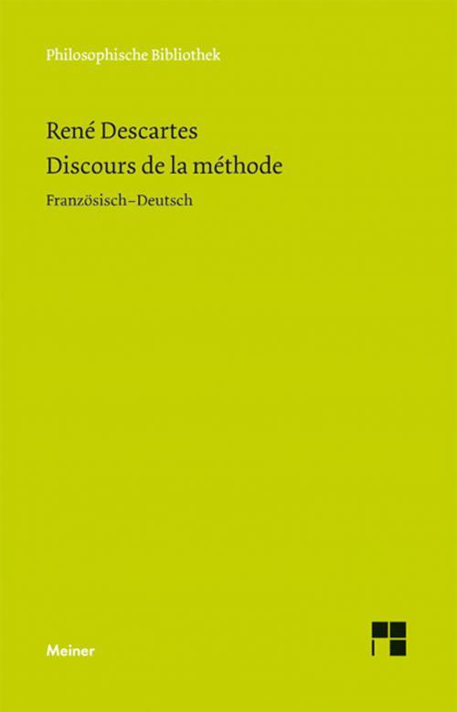 Discours de la Méthode cover