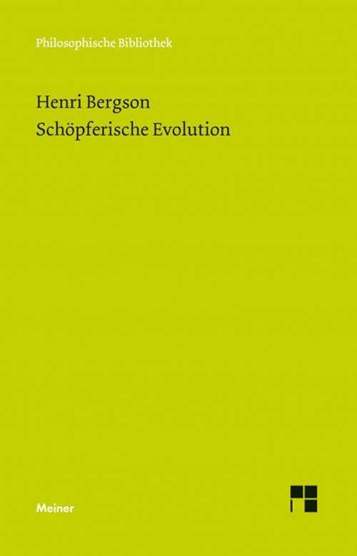 Schöpferische Evolution cover