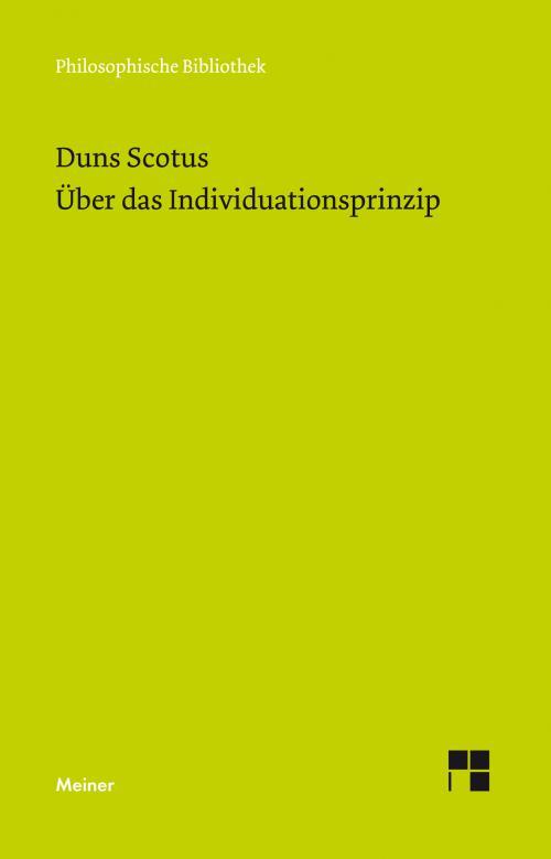 Über das Individuationsprinzip cover