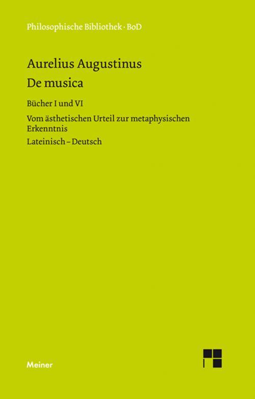 De musica. Buch I und VI cover