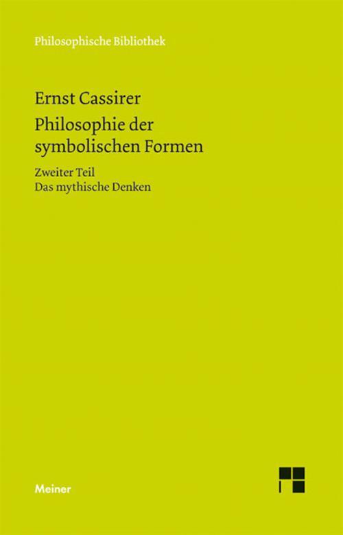 Philosophie der symbolischen Formen cover