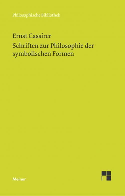 Schriften zur Philosophie der symbolischen Formen cover