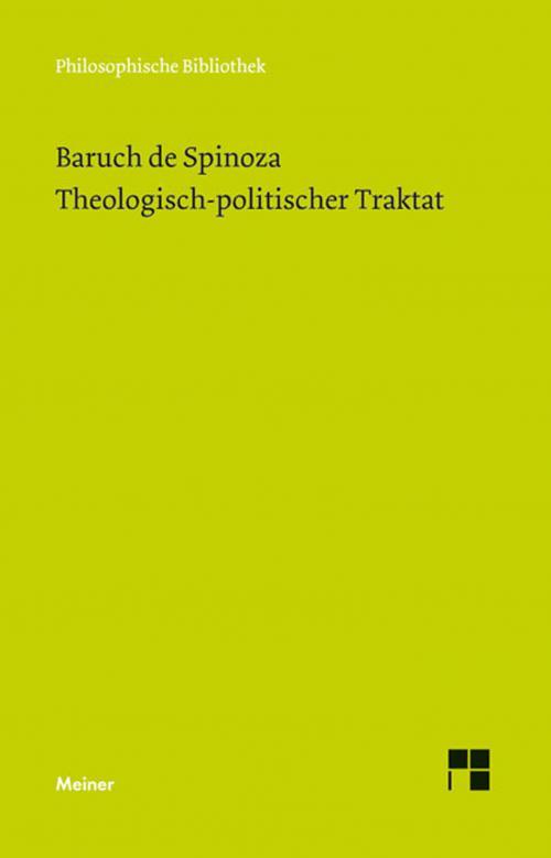 Theologisch-politischer Traktat cover