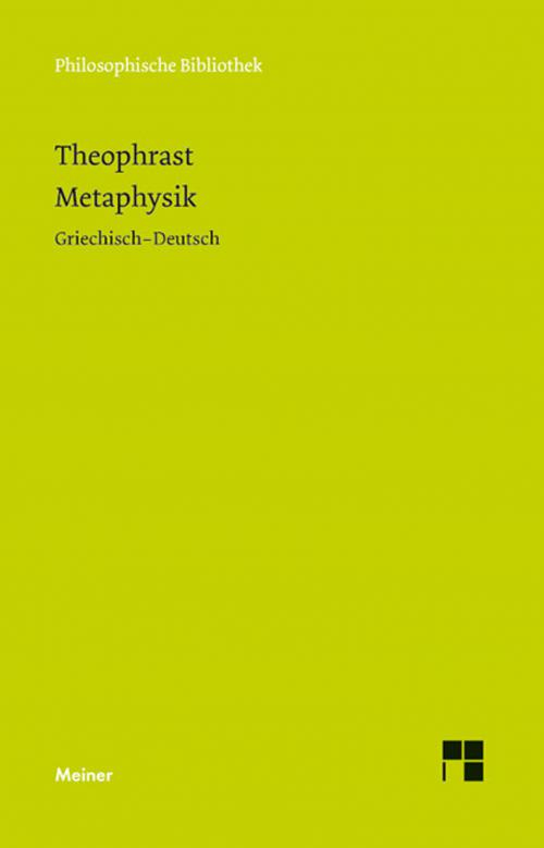 Metaphysik cover