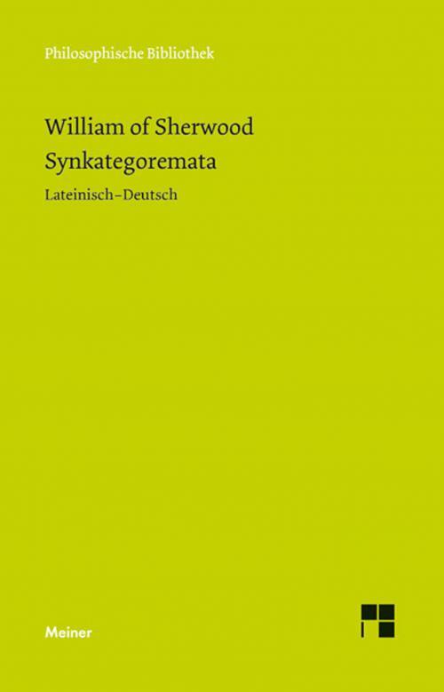 Syncategoremata cover