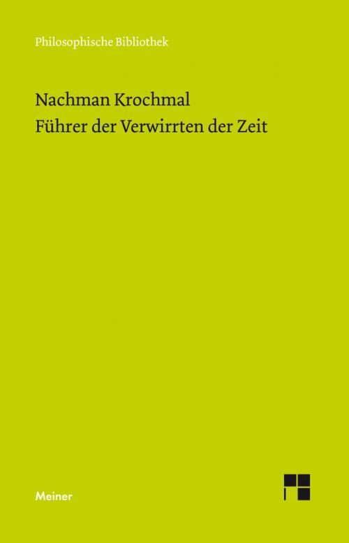 Führer der Verwirrten der Zeit. Bände 1 und 2 cover
