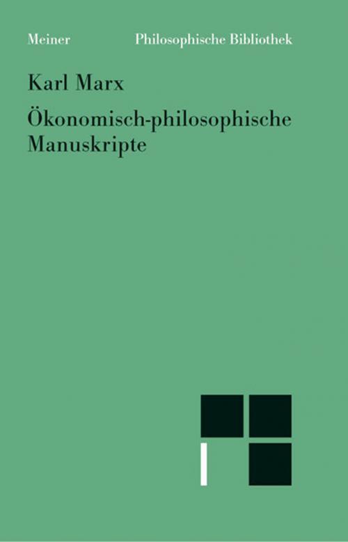 Ökonomisch-philosophische Manuskripte cover