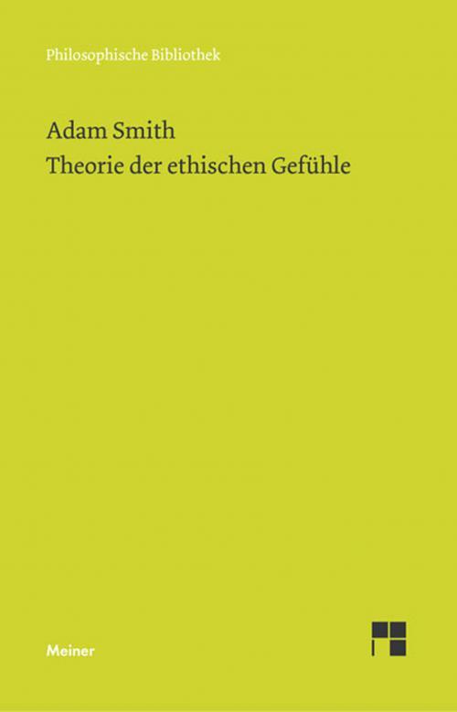Theorie der ethischen Gefühle cover