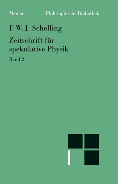 Zeitschrift für spekulative Physik cover
