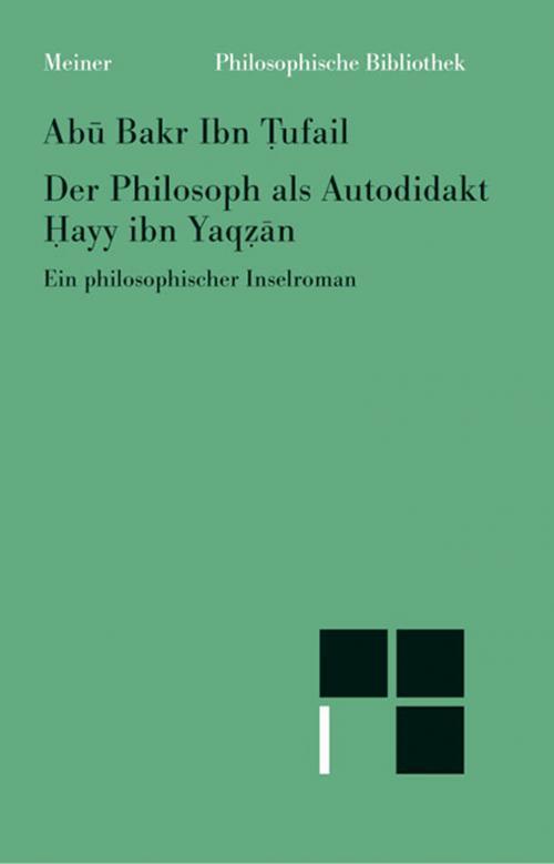 Der Philosoph als Autodidakt cover