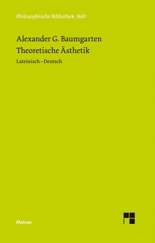 Theoretische Ästhetik cover
