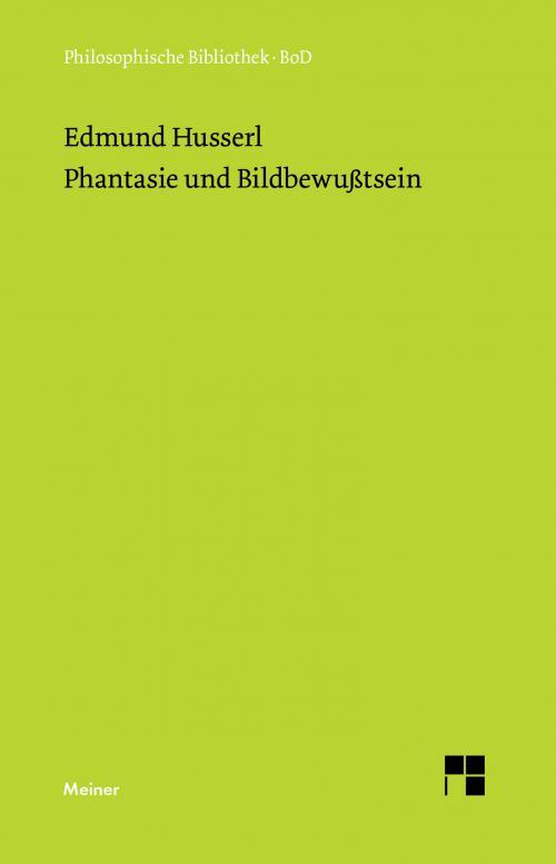 Phantasie und Bildbewußtsein cover