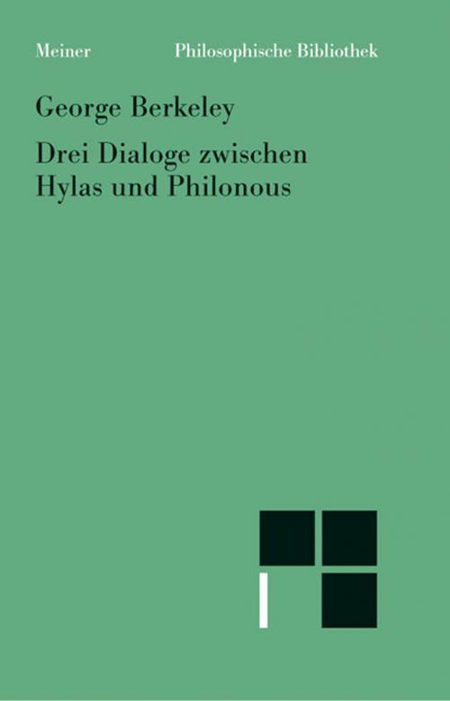 Drei Dialoge zwischen Hylas und Philonous cover