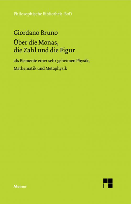 Über die Monas, die Zahl und die Figur cover