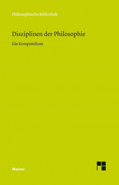 Disziplinen der Philosophie cover