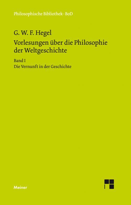 Vorlesungen über die Philosophie der Weltgeschichte cover