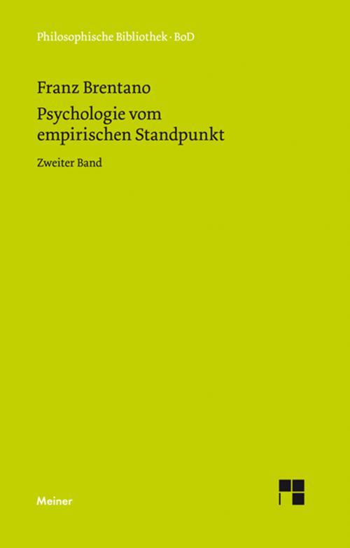 Psychologie vom empirischen Standpunkt cover