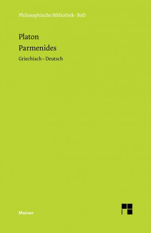 Parmenides cover