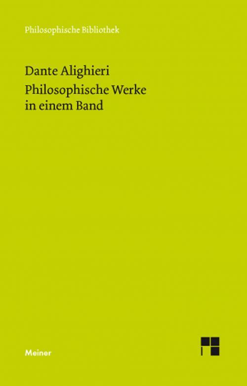 Philosophische Werke in einem Band cover
