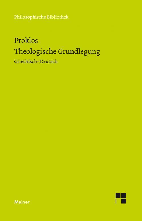 Theologische Grundlegung cover