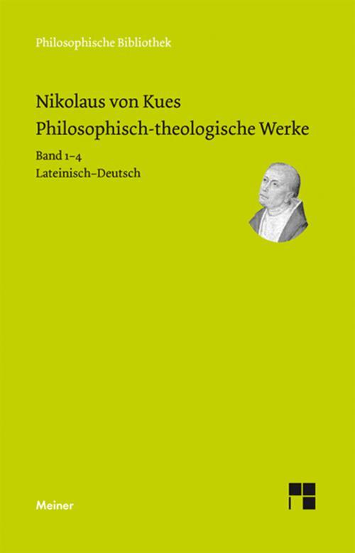 Philosophisch-theologische Werke in 4 Bänden. cover